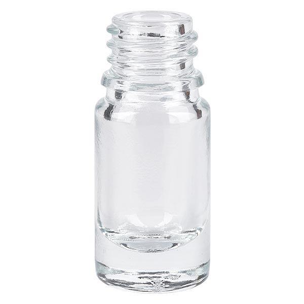 Klarglasflasche * 10 ml * VE 25 Stück