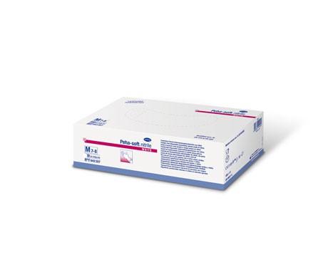 Nitril-Handschuhe Peha-soft nitrile white - puderfrei - VE 100 Stück