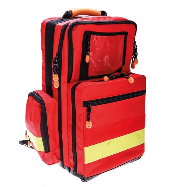 NotfallRucksack für HP - gefüllt - rot