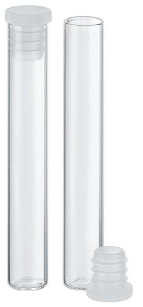 Flachbodengläser - Klarglas - Ø 8 x 52,5 mm