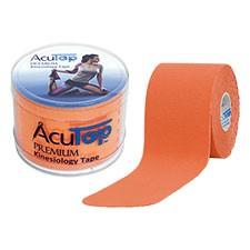 Kinesiology Tape AcuTop Premium 5 m x 5 cm Orange #MHD 05/2020#