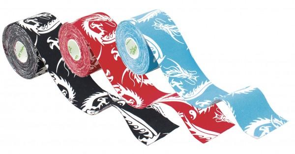 Kinesiology Tape Nasara Lifestyle Drachen 5 m x 5,0 cm