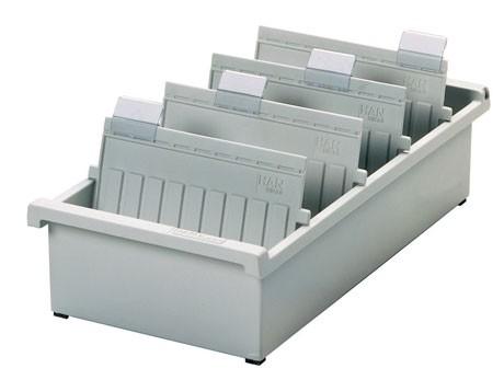 Karteitrog Kunststoff - DIN A5 quer