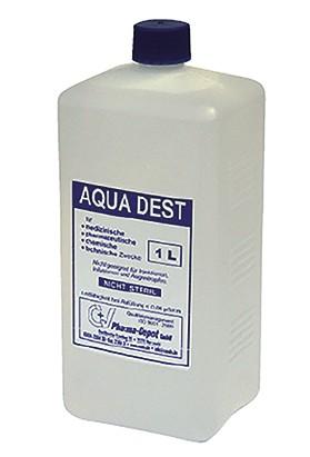 Destilliertes Wasser