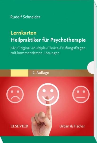Lernkarten Heilpraktiker für Psychotherapie