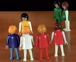 Aufstellungsfiguren * Playmobilset * 40 Figuren *