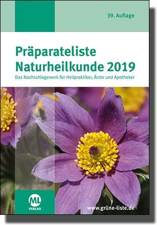 Präparateliste Naturheilkunde 2019