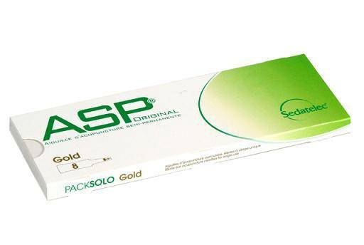 ASP-Ohrakupunkturnadeln - Gold -
