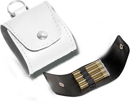Lederetui Notfallapotheke - Schlüsselanhänger