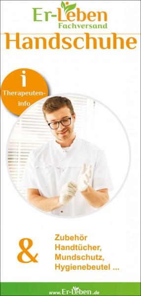 """Therapeuteninfo """"Handschuhe"""""""