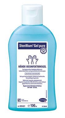 Sterillium Gel pure - Händedesinfektionsmittel - begrenzt viruzid