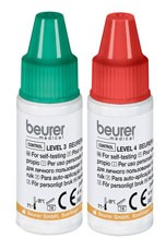 Blutzucker-Kontrolllösung für beurer GL 44 + GL 50 - Level 3 + 4