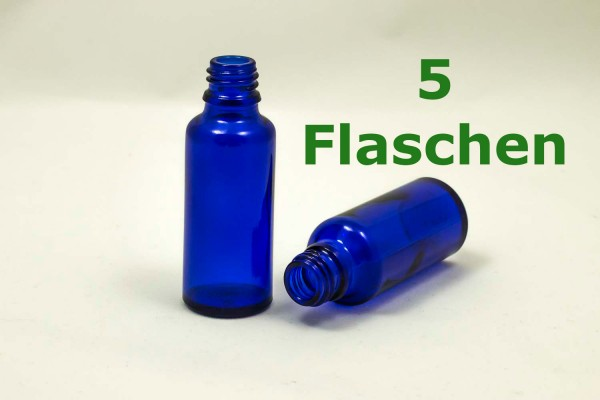 BLAUglasflasche 30 ml