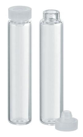 Rollrandgläser - Klarglas - Ø 10 x 47,5mm