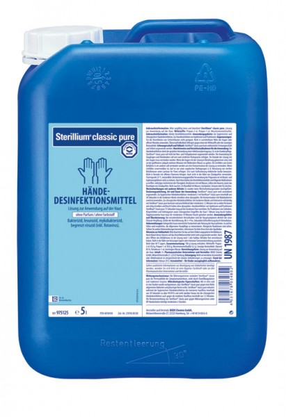 Sterillium classic pure - 5 Liter Kanister