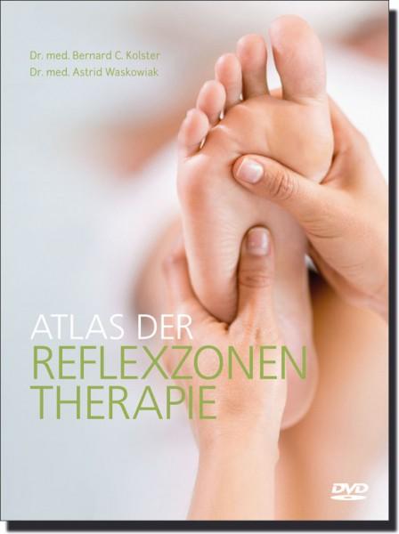 Atlas der Reflexzonentherapie - Buch + DVD