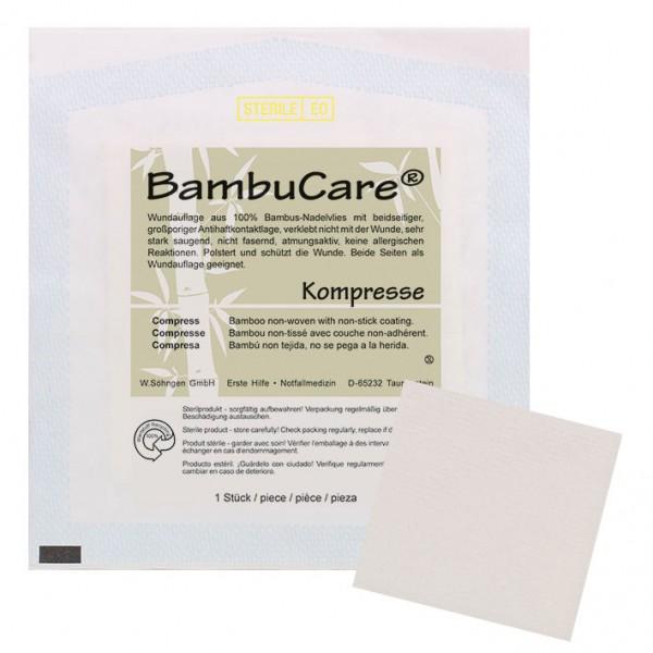 BambuCare - Kompressen - Wundauflage steril VE 5