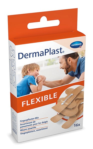 Wundschnellverband DermaPlast - FLEXIBLE - Fingerpflaster-Mix