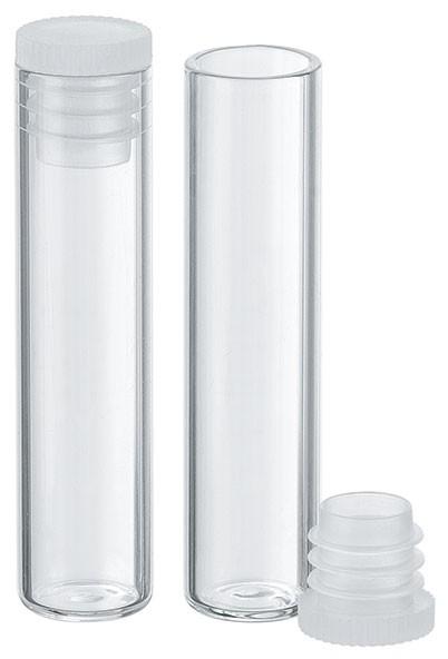 Flachbodengläser - Klarglas - Ø 12 x 50 mm - VE: 70 Stück