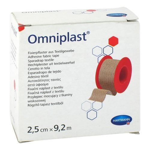 Fixierpflaster - Omniplast - 1,25 cm x 9,2 m