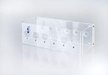 Reagenzglasgestelle- Clear -