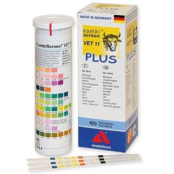 Urinteststreifen - Combi-Screen VET 11 PLUS - für Tiere
