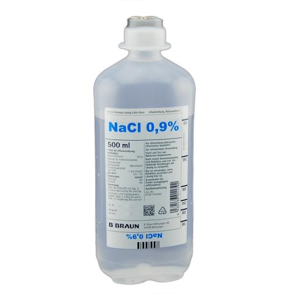 Isotonische Kochsalzlösung 0,9%* 500 ml*