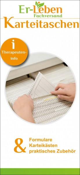 """Therapeuteninfo """"Karteitaschen"""""""