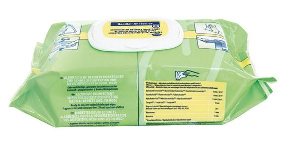 Bacillol AF Tissues - 80 Tücher - (Bode)