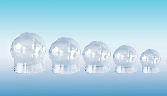 Schröpfgläser ohne Ball - CE - Glas -