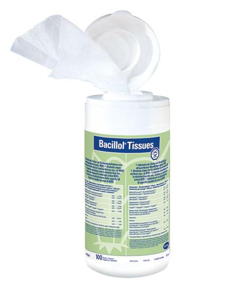 Bacillol Tissues - Spenderbox mit 100 Tüchern (Bode)