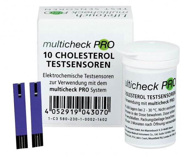 Lifetouch Multicheck PRO Cholesterol-Sensoren