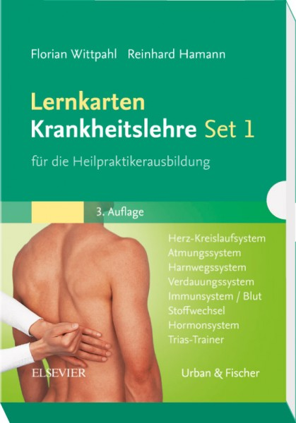 Lernkarten Krankheitslehre - LernKartenSet 1 -