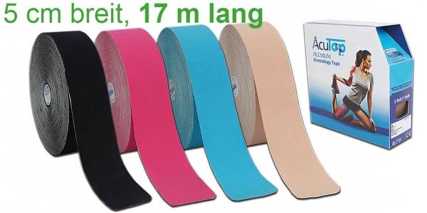 Kinesiology Tape AcuTop Premium 17 m x 5 cm